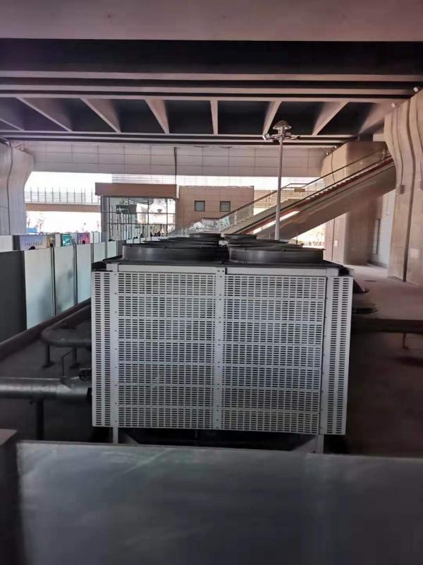 地铁站风冷螺杆机组应用案列