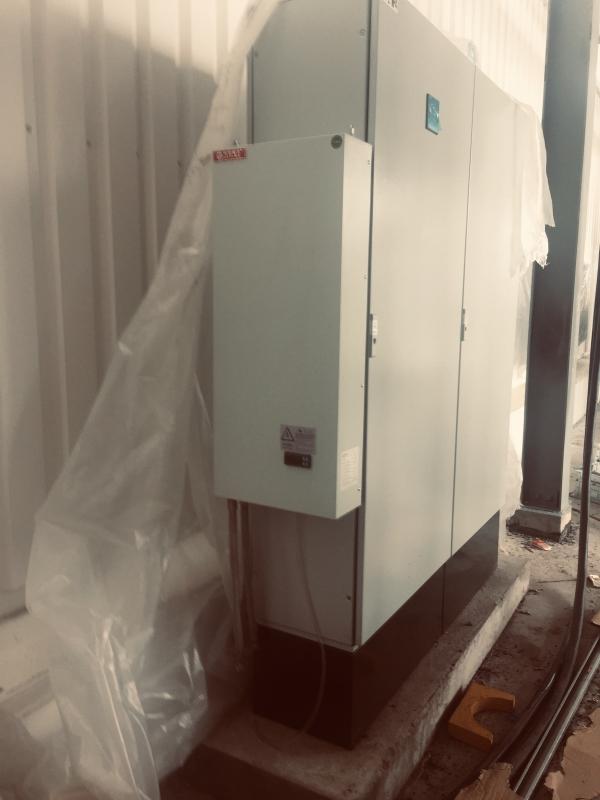水冷机柜冷却现场